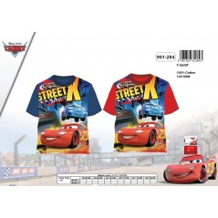 T-Shirt Cars Short Sleeve 961-284