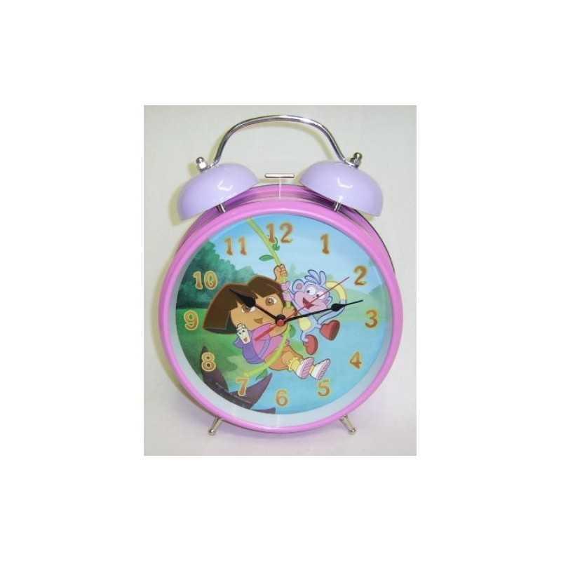 Metal alarm clock Dora 21cm