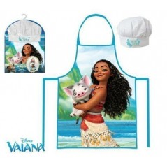 Set Tablier + Toque Petit Chef - Vaiana Disney