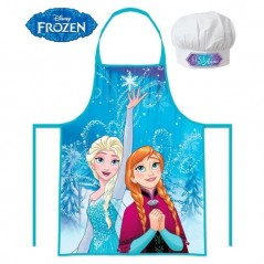 Set Tablier + Toque Petit Chef - La reines des neiges Disney