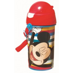 WATER BOTTLE AUTOMATIC MICKEY MOUSE DISNEY 500 ML, ANTI-DRIP