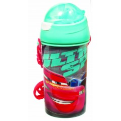 Water bottle pop up Cars Disney 500 ML