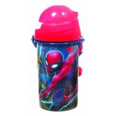 Bottiglia automatica Spider-Man Marvel 500 ML, SISTEMA Sistema antigoccia