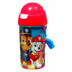 Water bottle pop up Paw Patrol 500 ML