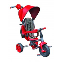 STROLLY - Tricycle Evolutif Strolly Compact Rouge