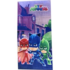 Pjmasks cotton beach towel