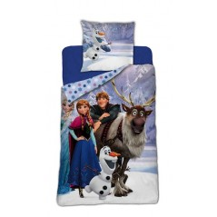 Duvet cover The Snow Queen - Frozen 140 X 200 cm