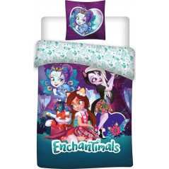 Enchantimals ropa de cama.