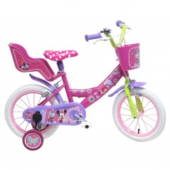 "Bike Minnie Dsiney 14"" Mondo"