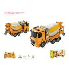 Truck truck Mercedes cement mixer scale 1/20