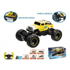 Hot Wheels Crawler R / C 1:18 con batteria ricaricabile