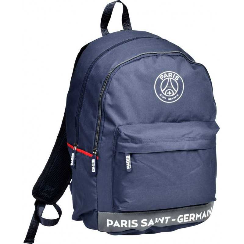 Sac à dos Paris Saint-Germain – 2 compartiment -Collection officielle PSG -Bleu Athletic
