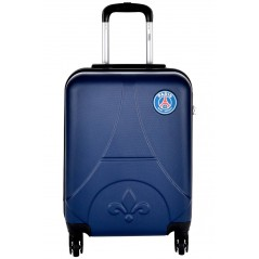Valise cabine Paris Saint-Germain en ABS - Collection officielle PSG - Tour Eiffel