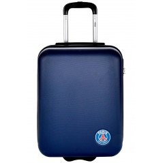 Paris Saint-Germain cabin suitcase in ABS - Official PSG Collection - In Blue