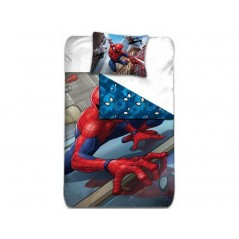 Set copripiumino Spiderman + fodere per cuscino Spiderman