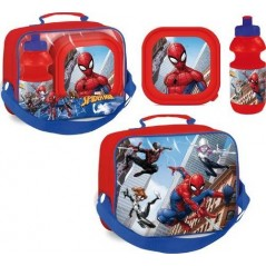 Cooler bag Spiderman with box, snack and water bottle Spiderman