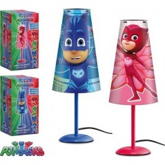 Lampe de Chevet Pjmasks 38 cm en forme conique