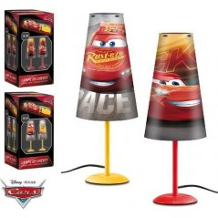 Lampe de Chevet Cars Disney 38 cm en forme conique