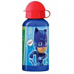 Water bottle in aluminium PJ masks 400 ML