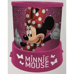 Minnie Projector Nightlight mit Sternen