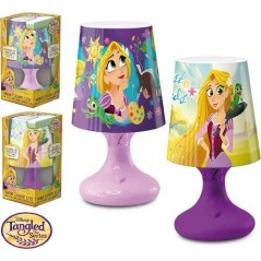 Lámpara LED Princesa Rapunzel Disney 18 cm