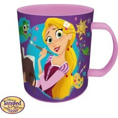 Princess Rapunzel Disney Mug in Plastic Micro 350 ML