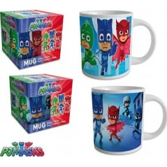 Ceramic Pjmasks mug 23.7 CL