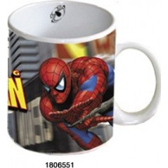 Giant ceramic Spiderman mug