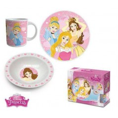 Disney Princess Keramik Lunch Set