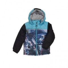 Down jacket with hood Star wars