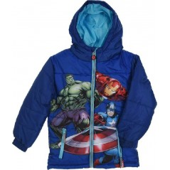 Down jacket with hood Avengers