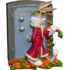 Piggy Bank figurin resina 3D Bugs Bunny