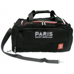 Sports bag in black Official PSG Paris Saint-Germain de Stadium