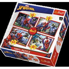Puzzles Spiderman - 4en1 Puzzles