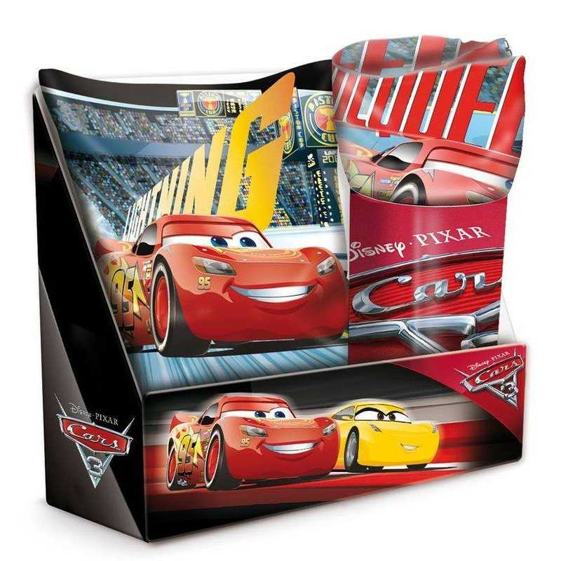 Cushion Set with Cars Disney Plaid
