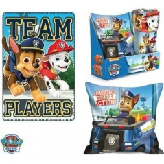 Cushion Set with Plaid Paw Patrol