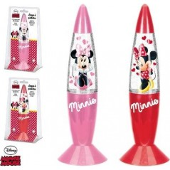 Lampe Led paillettes Minnie 18 cm