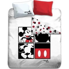 Mickey bed linen set - 100% cotton 240 X 220 CM + 2 pillowcases