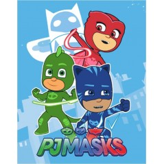 Plaid Fleece PJMASKS