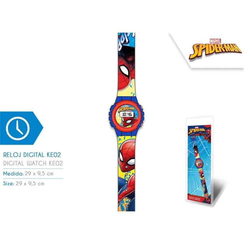 Montre digitale Spider-man