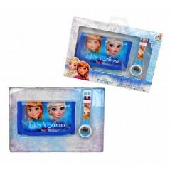 Brieftasche + Digitaluhr Set Frozen