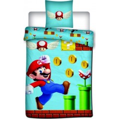 Mario Bros cotton duvet cover