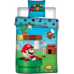 Cotton Super Mario Bros Duvet Cover
