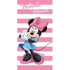 Beach towel or bath towel Minnie Disney