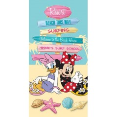 Beach towel Minnie And Daisy