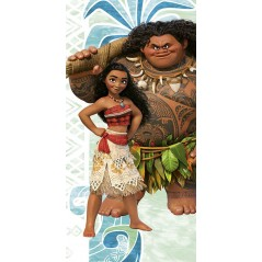 Beach towel or bath towel Vaiana Disney