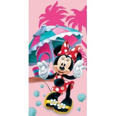 Beach towel Minnie Disney