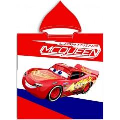 Poncho de bain Cars Disney à capuche