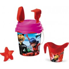 Lady Bug beach bucket