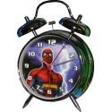 Spiderman metal alarm clock